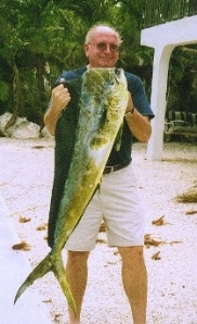 Dad Fishing in Florida Keys